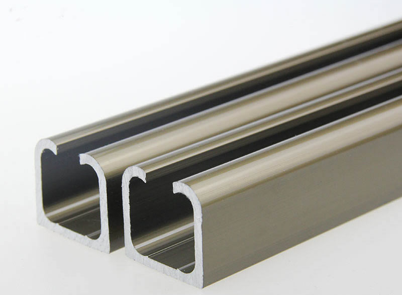 منتجات مخصصة ، الباب بكرة الشريحة المسار ، الشريحة السكك الحديدية ، 100 سنتيمتر x 9 قطعة