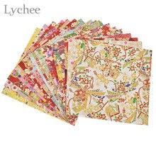 Lychee artisanat japonais en fleur florale   Origami, bricolage fait main, Scrapbook, papier pliant, aléatoire, 20 feuilles