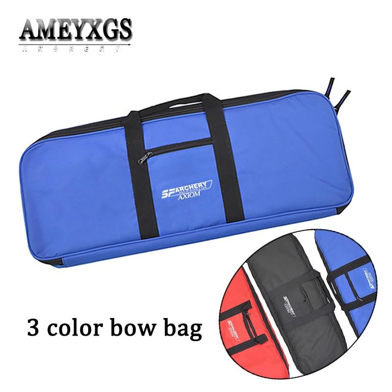 1 ud. Bolsa de arco para tiro con arco deportes accesorios de práctica de tiro con arco Portable recurvo bolsa con flecha aljaba