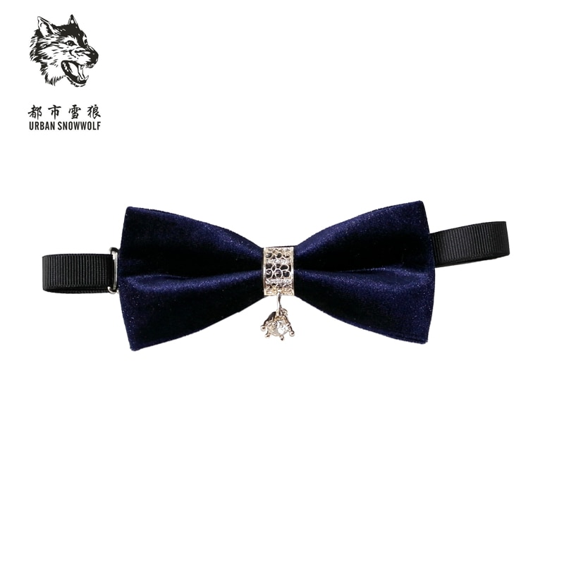 New Free Shipping fashion Men's male fashionable groom diamond wedding dress business tie neckties stage emcee ON SALE