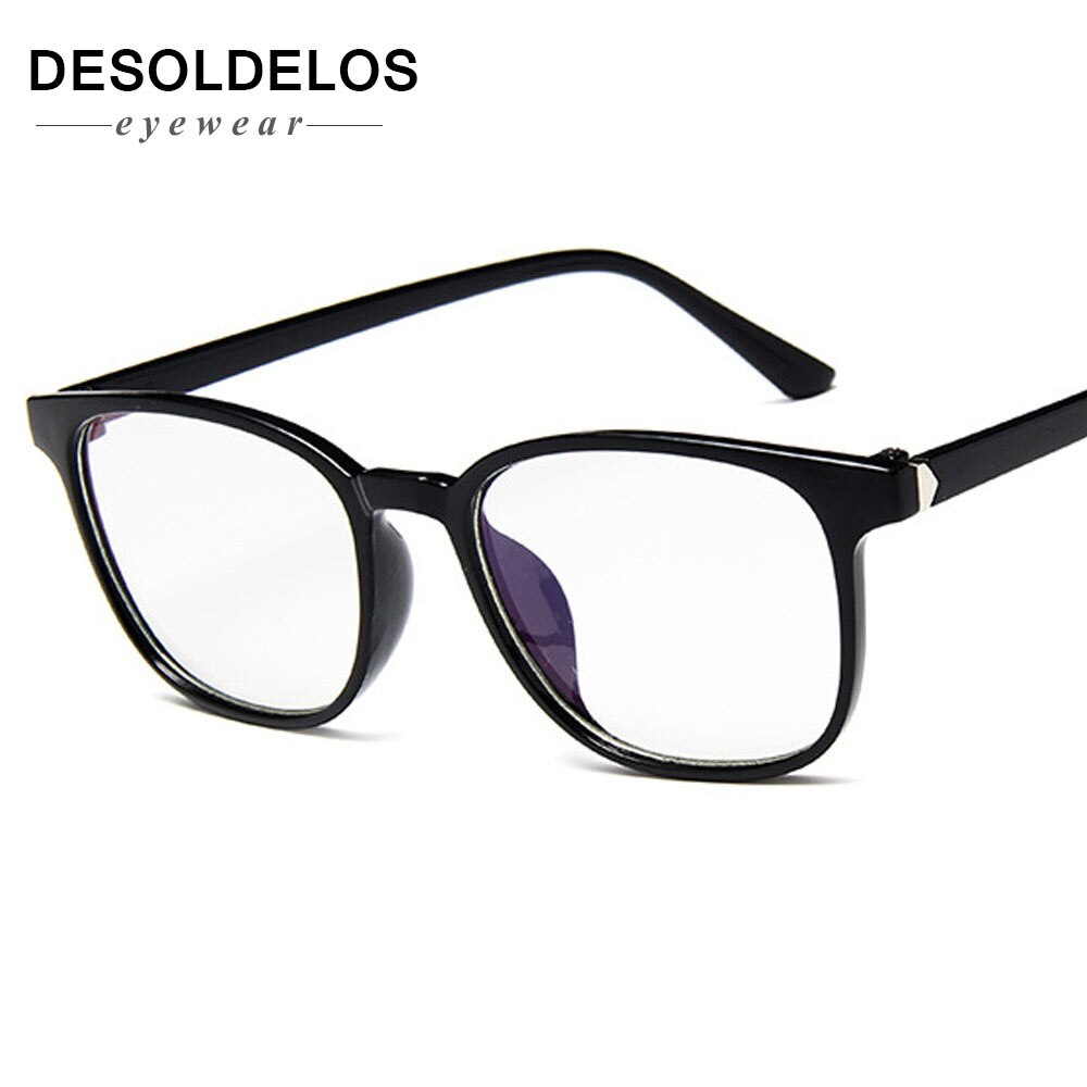 Transparent Glasses Frames  Men Women Fake Glasses Vintage Optical Myopia Eyeglasses Frames Ladies Retro Eyewear