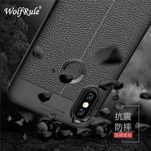 Cellul Xiao mi Mi A2 Cover Shockproof 고급 가죽 TPU 뒷 케이스 Xiao mi Xiao mi Mi A2 Funda Xiao mi Mi 6x Mi 6x Phone Shells
