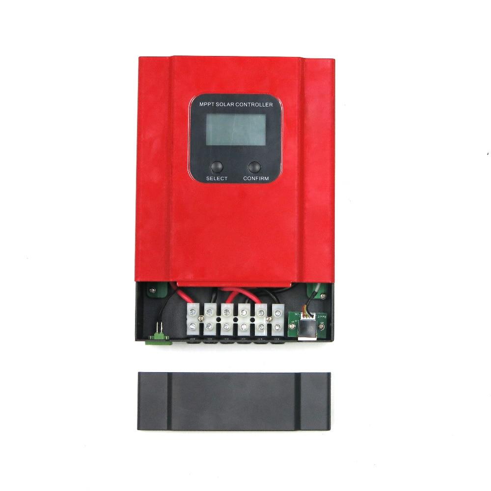 eSMART3 LCD 20A 30A 40A 50A 60A smart MPPT solar charge controller with RS485 and battery temperature sensor 12V/24V/36V/48V