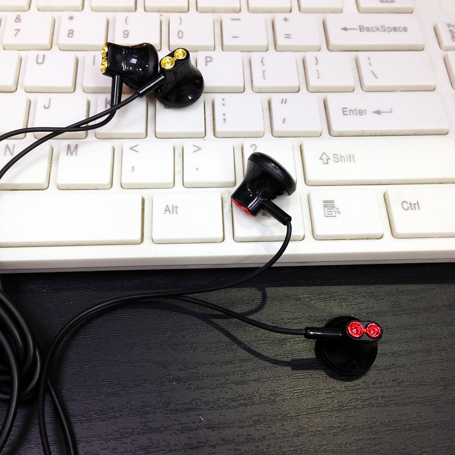 Wired handsfree Steoro bass in-ear earphones with mic sport Headset 3.5mm for iphone 7 Xiaomi Samsung Huawei earphone ONESAM E11 enlarge