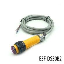 Capteur optique-électronique capteur de commutation capteur infrarouge E3F-DS30B2 inducteur de réflexion Diffuse