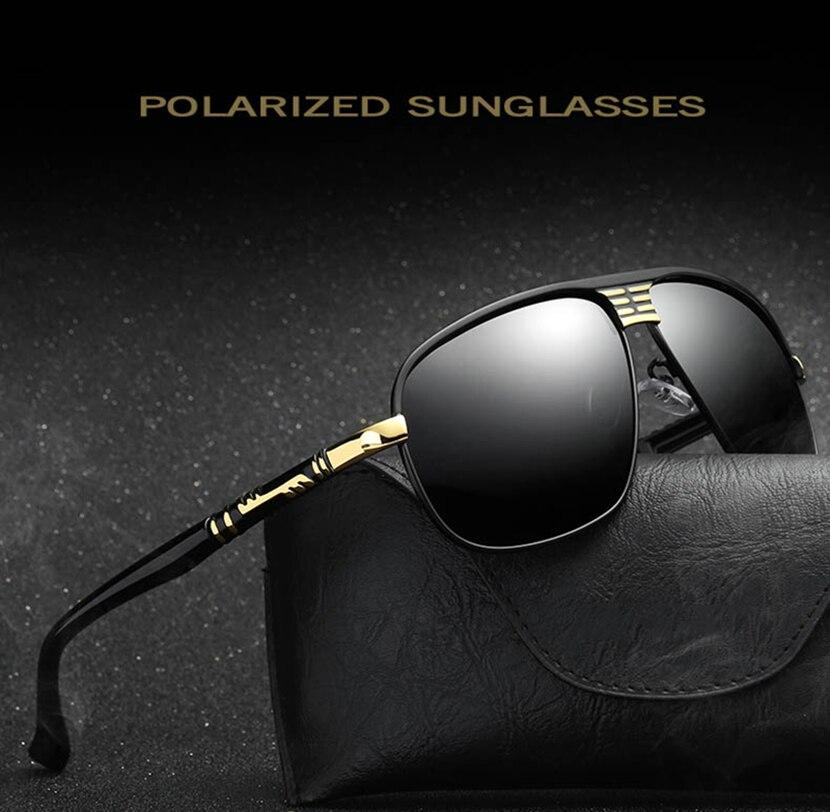 JackJad 2018 Homens Da Forma Legal Estilo Aviação POLARIZADA Óculos de Sol Óculos de Condução de Design Da Marca Óculos de Sol Oculos de sol Masculino 272