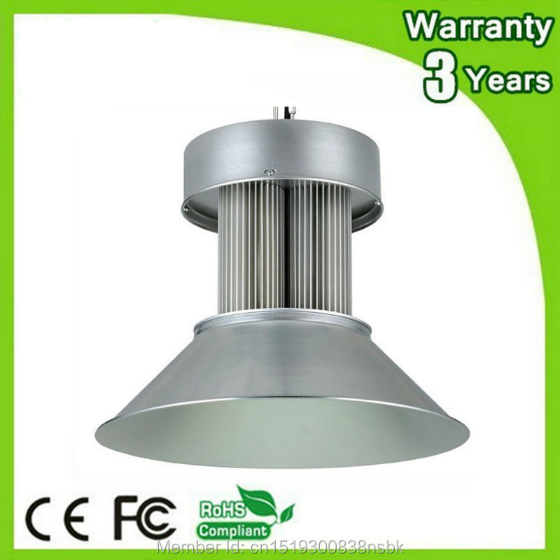 (6 unids/lote) 85-265V 3 años de garantía carcasa gruesa CE RoHS 600W campana montaje alto LED luz industrial lámpara E40