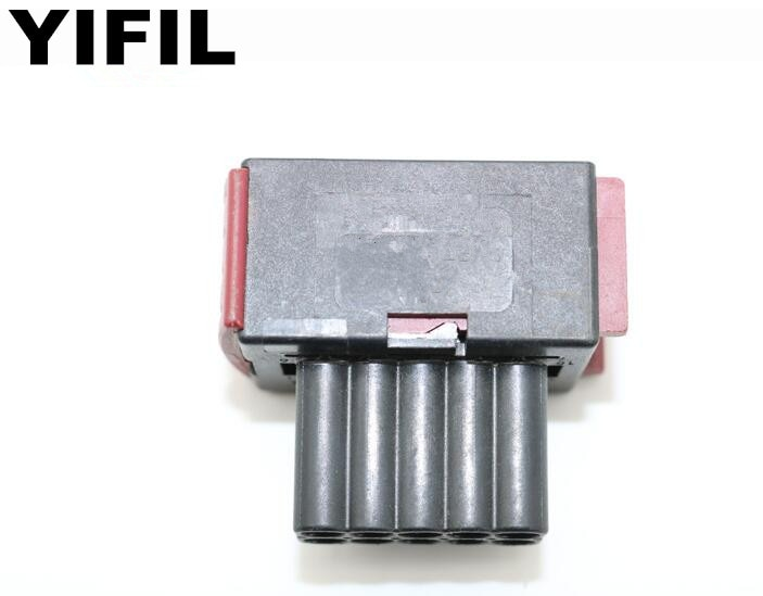 5/10/20/50pcs/lot TE AMP JPT 10 Pin/Way Headlights Lamp Connector Plug Socket With Terminal Adapter For Peugeot Citroen Buick