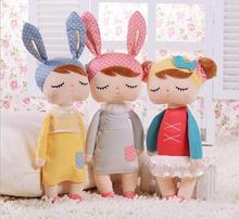 43cm Cute Metoo Angela Dolls Bunny Baby Toy Stuffed Animal Plush Toy For Kids Christmas birthday gifts