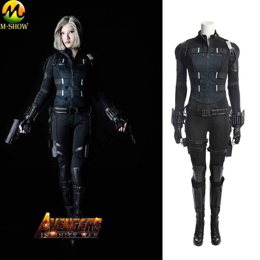 Vingadores infinito guerra viúva negra traje natasha romanoff cosplay traje trajes de halloween para adultos
