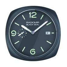 Deisgn haut de gamme! Montre murale avec date et logos   En forme de montre, horloge murale pour le détail