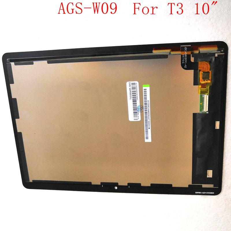 "Para Huawei Mediapad T3 10 ""AGS-W09 AGS-L09 AGS-L03 Lcd Screen Display + Toque Digitador de Vidro Conjunto Conjunto Completo"