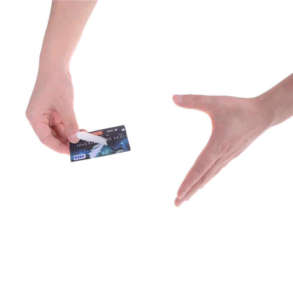 Cigarros profesional flutuante suspender cartão de crédito truques mágicos perto de palco adereços mágico magie ilusão mentalismo gimmic