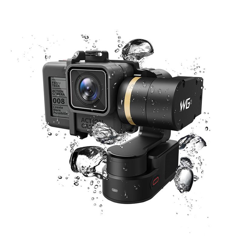 FeiyuTech Feiyu WG2 носимых монтируемый 3 оси водонепроницаемый стабилизатор для GoPro 6 4 5 Session YI 4 K SJCAM Экшн-камера AEE Камера