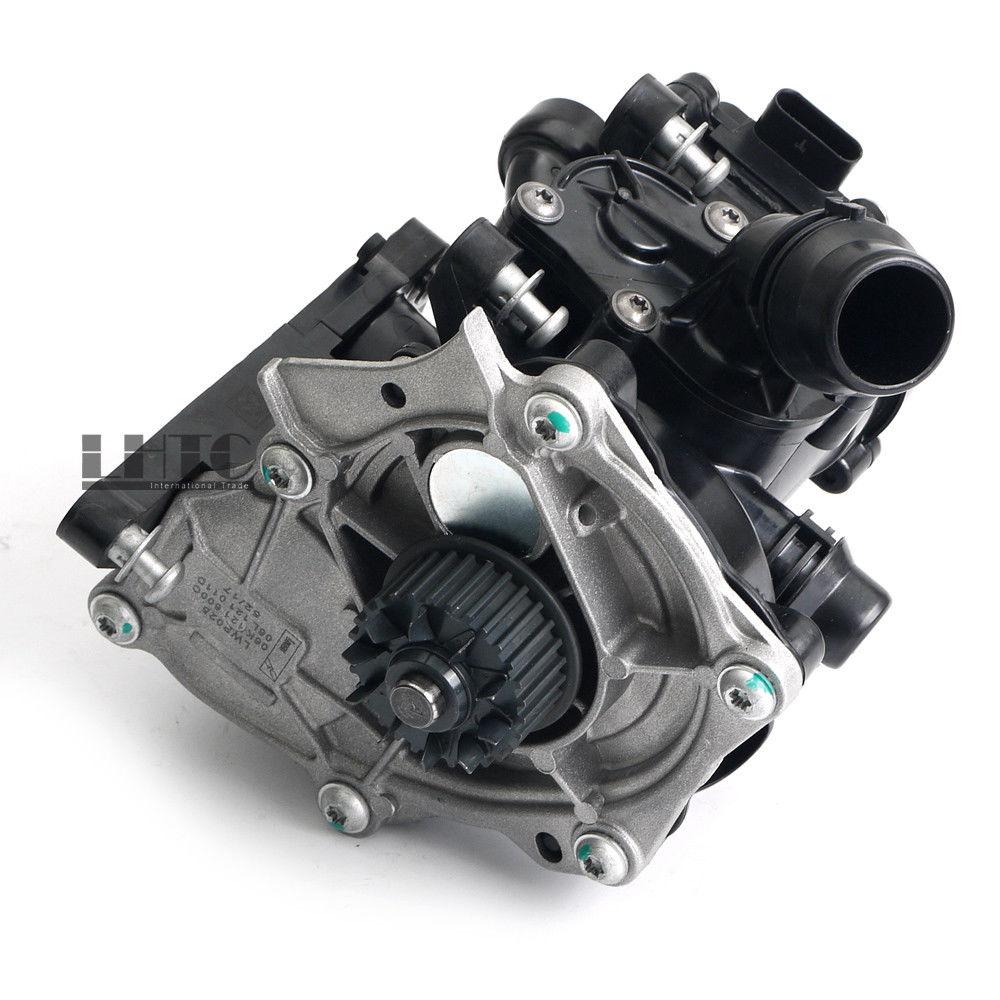 Nuevo conjunto de termostato electrónico de bomba de agua para VW GTI MK7 Passat AUDI A3 A4 A5 1,8 2,0 TSI TFSI EA888 MKIII