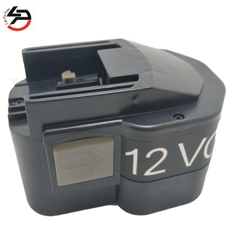 ¡Nuevo! batería de repuesto Laipuduo de 2000mAh 12V ni-cd para AEG B12/BF12/BX12/bxl12/MXS12/MX12