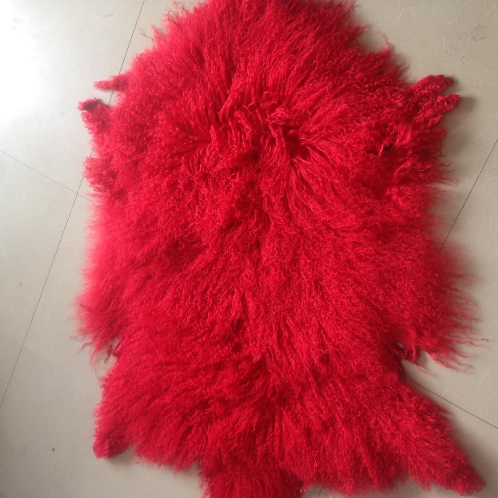 Sheep Fur Skin/ real mongolian sheep fur skin best quality hot selling