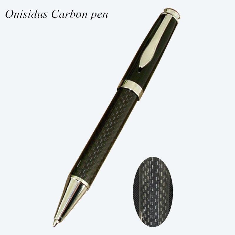 Высокое качество, металлическая шариковая ручка для бизнеса, подарки для офиса и школы, канцелярские принадлежности, шариковые ручки из угл...