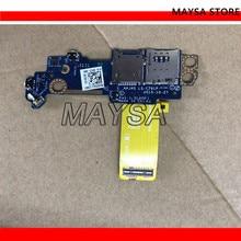 Power Button Board SIM SD Karte Für Dell Latitude 11 5175 5179 Tablet LS-C791P 0V242J cn-0V242J mit kabel
