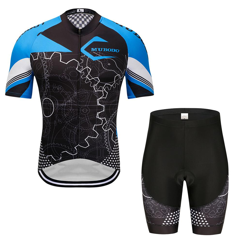Maillot uniformes de ciclismo para hombre fiets kleding mannen completi ciclismo estivo...