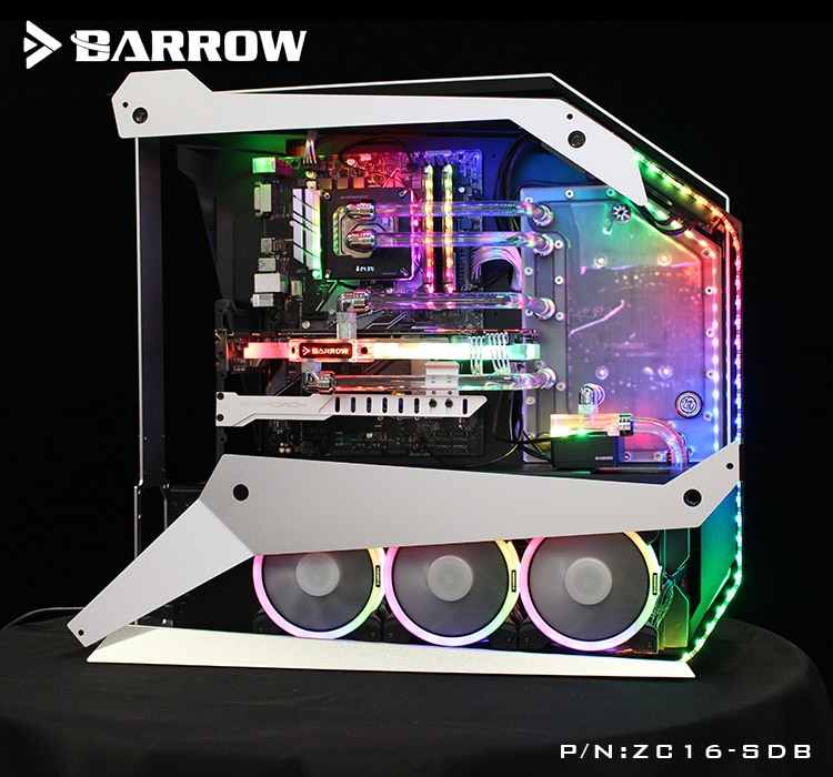 بارو ZC16-SDB ، الممر المائي لوحات ل Zeaginal ZG-16 حالة ، ل إنتل وحدة المعالجة المركزية كتلة المياه و GPU واحد بناء
