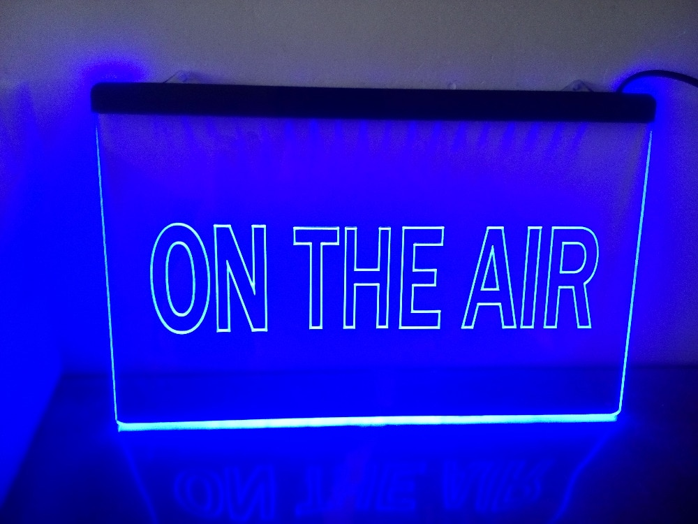 ka11 On The Air Studio Room Game LED Neon Light Sign Wholesale Dropshipping