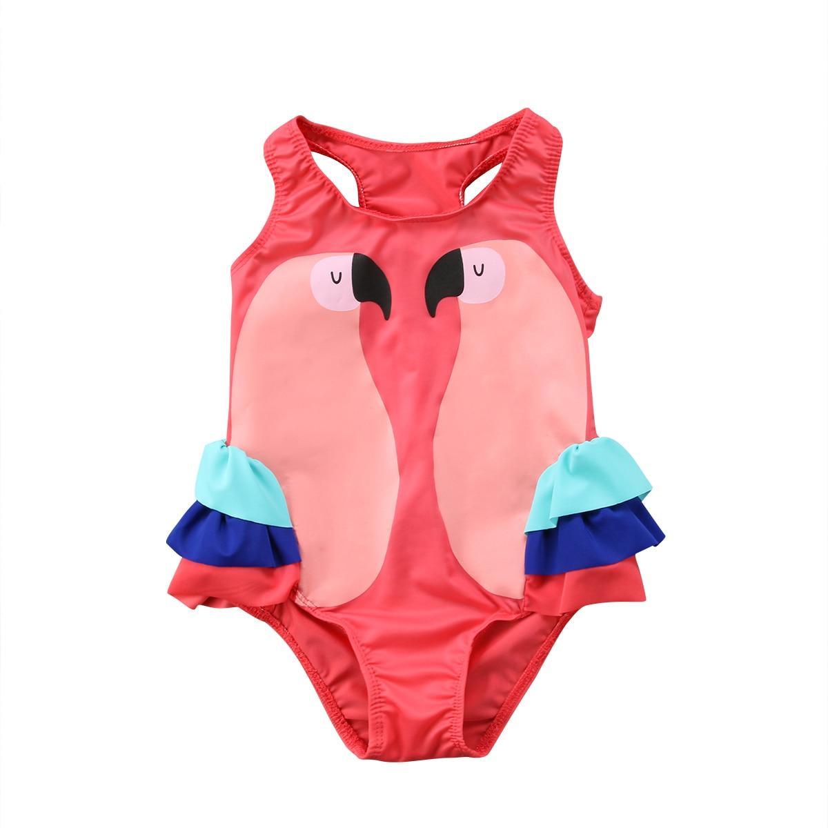Traje de baño Floral de una pieza para niñas pequeñas, Bikini para niñas, trajes de baño bonitos, traje de baño para niños pequeños