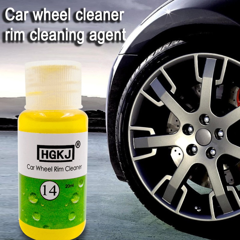 1PCS HGKJ 20ml Add 5 times more Water=120ml Auto Window Cleaner Glass Cleaning Car Wheel Ring Remove