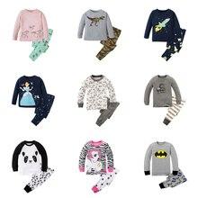 Estilo Do Carro Pijamas Crianças Pijamas do bebê Pijamas Meninos Meninas Pijama Define Crianças Spiderman Superman Batman Nightwear