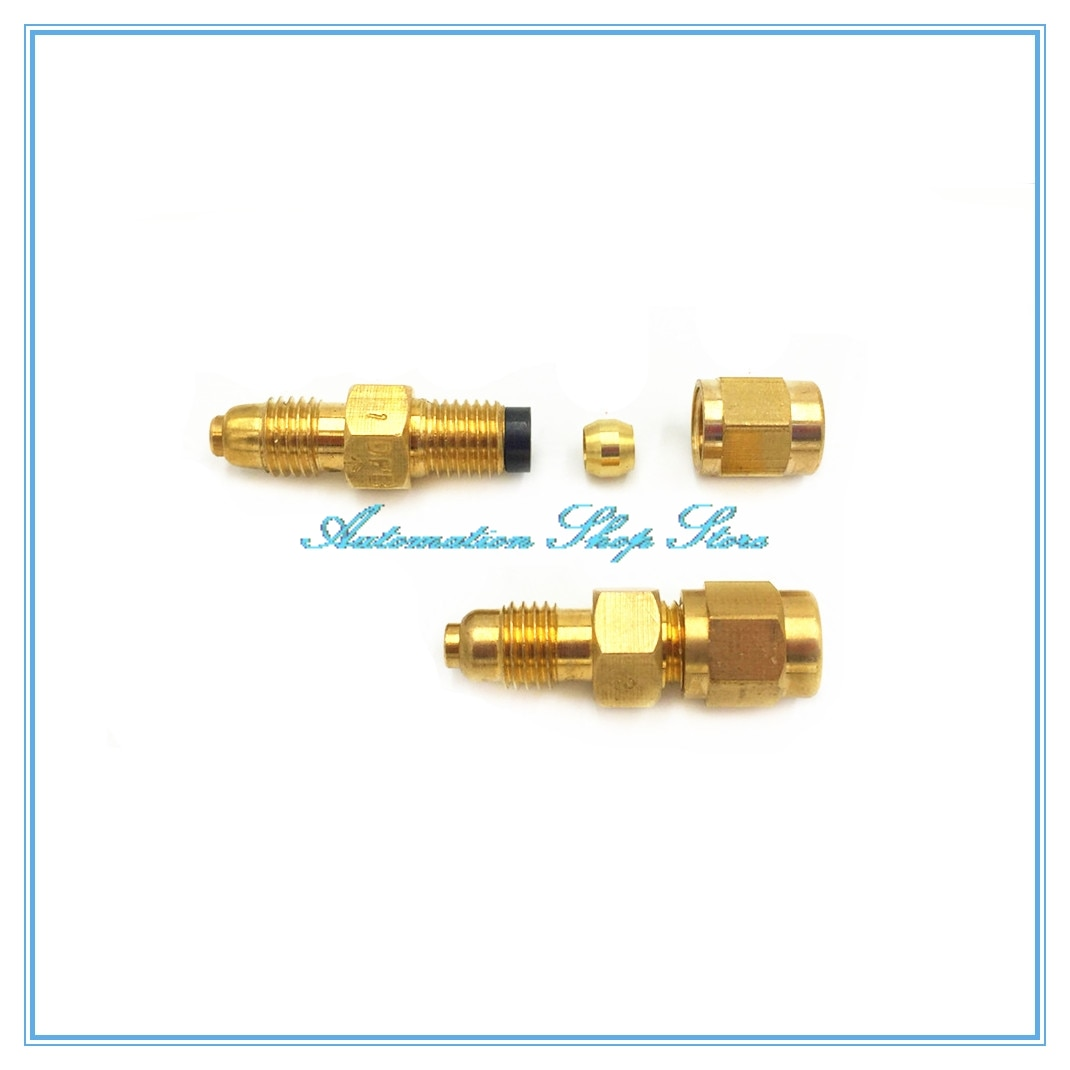 one-way valve DPC distributor Gauge PB+PN+DPB parts for oil separator Oil pump tube Fittings CNC machine tool tubing