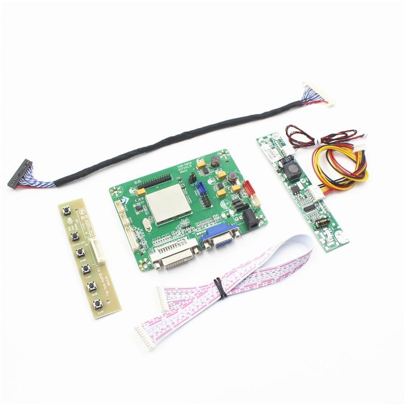 Tp2271 placa de controlador lcd apoio dvi vga para painel lcd 19 polegada LM190E0C-SLA1 LM190E09-TLK1 LM190E0A-SLD1 suporte dropshipping