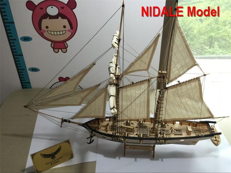 Новая версия хобби модель корабля наборы Halcon 1840 CNC латунные пушки роскошный Парусник модель предложение английская инструкция