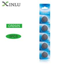 5 sztuk baterii CR2025 Cr 2025 ECR2025 DL2025 BR2025 2025 KCR2025 L12 komórka przycisku bateria moneta do zegarków zabawki 3V baterie litowe