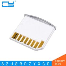 Micro SD TF à carte SD Kit Mini adaptateur pour stockage supplémentaire Mac book Air/Pro/Retina blanc