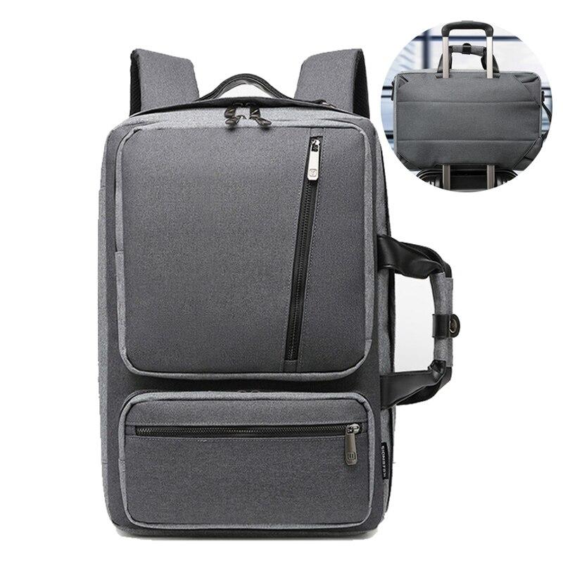Maletines convertibles, bolso grande de nailon para ordenador portátil, mochila de viaje impermeable para hombres y mujeres, Maletin Portatil 15,6 XA227ZC