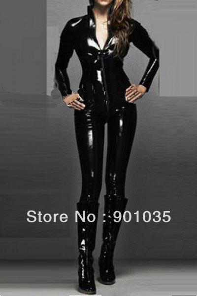 شحن مجاني S-2XL 9113 المرأة القطة المرأة القطة زي السيدات Supergirl خارقة و وغد تنكرية pvc زي