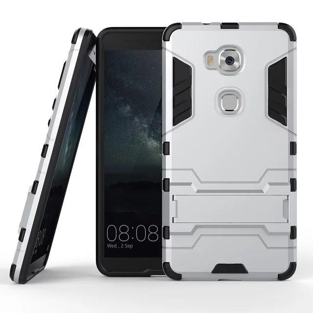 Funda de móvil para Huawei Honor 5X, funda protectora de TPU, carcasa de teléfono Honor 5X 5 X, funda protectora con soporte