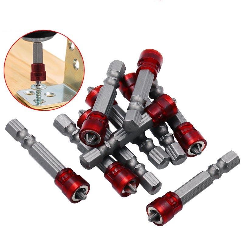 """Šrouby 1/4 """"šroubováku s šestihrannou stopkou magnetu s magnetickou hlavicí s křížovým magnetickým ručním elektrickým šroubovákem a příslušenstvím"""