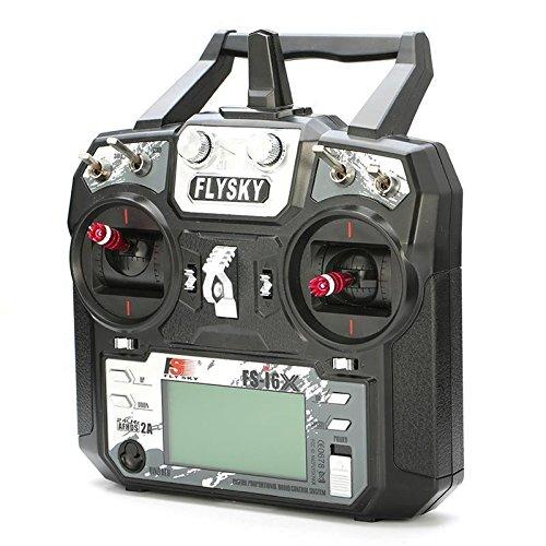 Original Flysky FS-i6X 10CH 2.4GHz AFHDS 2A RC Transmitter With FS-iA6B FS-iA10B FS-X6B FS-A8S Receiver For Rc Airplane Mode 2 enlarge