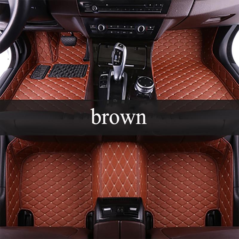 kalaisike Custom car floor mats for Lexus all models ES IS LS RX NX GX GTH GS LX car styling car accessories
