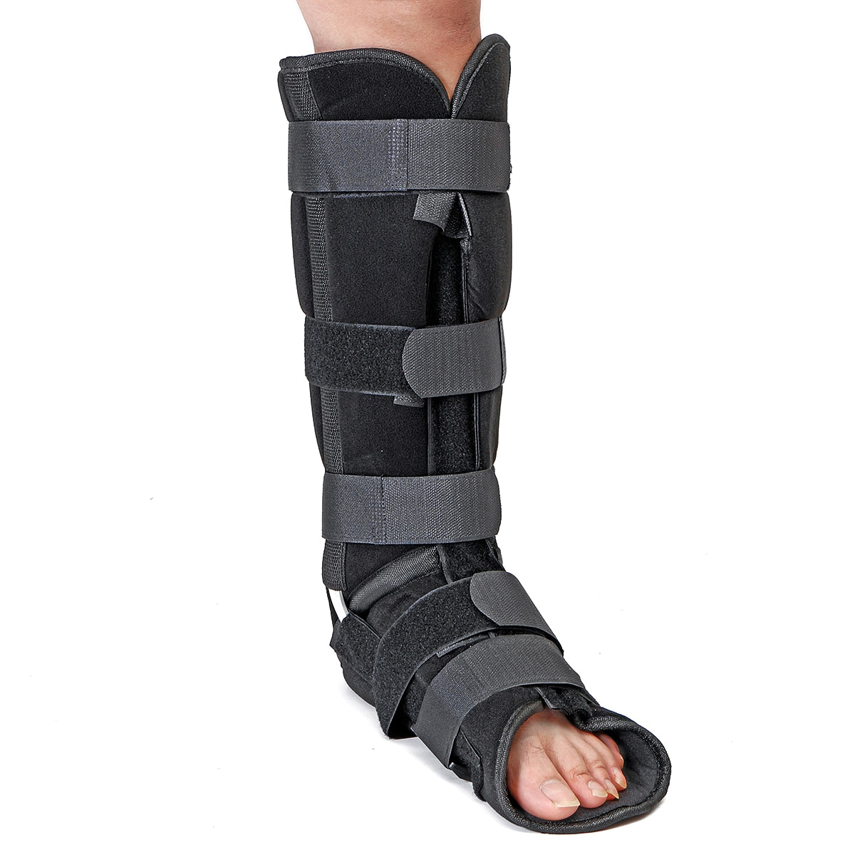 SGODDE 1 Uds tobillo pie Brace a Walker Boot Achille zapato para tendones de miembro inferior órtesis férula zapatos ortopédicos de cuidado de enfermería