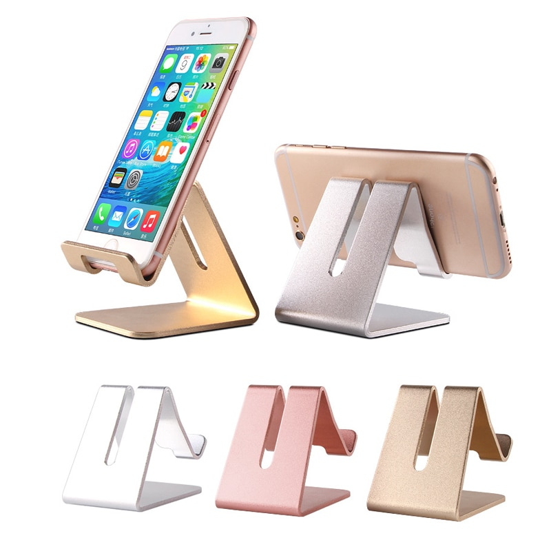 Soperte movil de aleación de aluminio fijo Tablet soporte de ordenador soporte para teléfono móvil accesorios para nubia play 5g honor x10