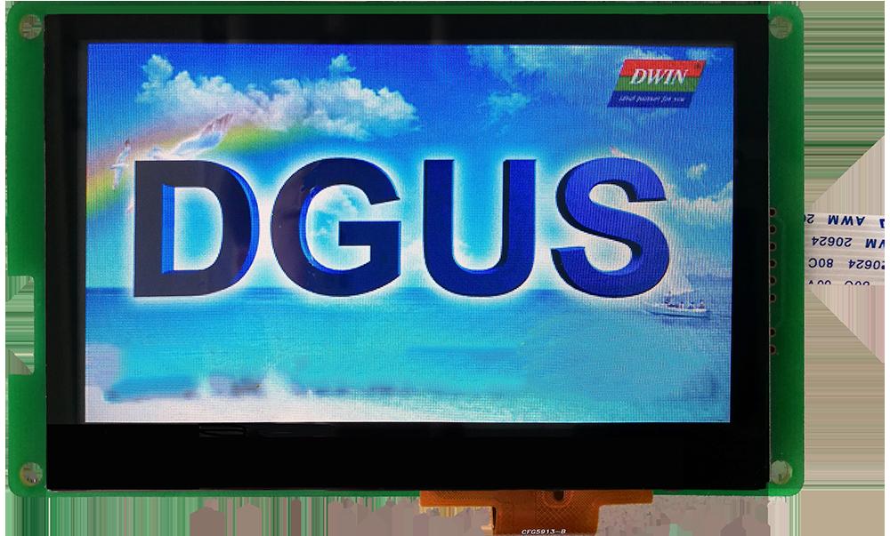 Pantalla táctil capacitiva DMT48270C043_07WT DGUS II pantalla reproductor de música