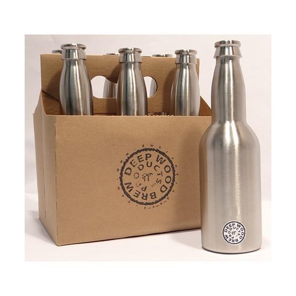 2 peças/lote 330 ml Garrafa de Cerveja, Aço inoxidável 304, padrão de Garrafa de Cerveja, Equipamentos de engarrafamento