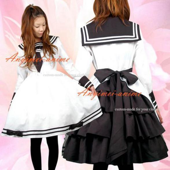 زي مدرسي قوطي لوليتا ، فستان بانك ، بدلة تأثيري مصممة خصيصًا [CK970]