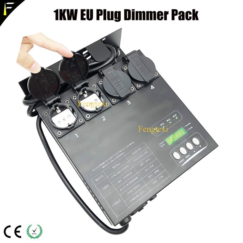 DMX/MIDI controlable 4 canal DMX Dimmer de paquete de interruptores tradicionales luz...
