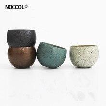 NOCCOL yenilik Creativo çömlek termo kupa bardak çevre dostu 4 renkler 120ml çin Retro çay fincanları sıcak satış komik Tumbler kupalar