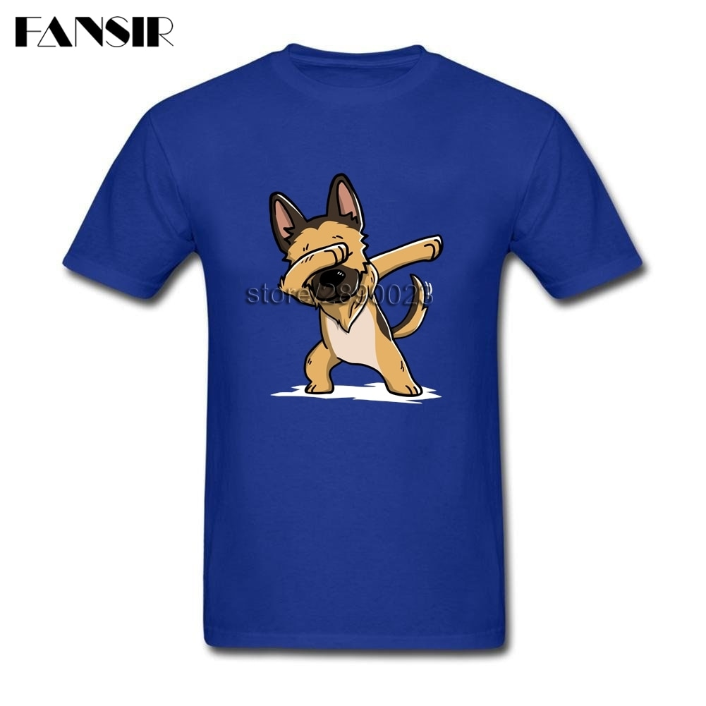 Harajuku вытирая Пособия по немецкому языку пастырь в стиле хип хоп футболка Для