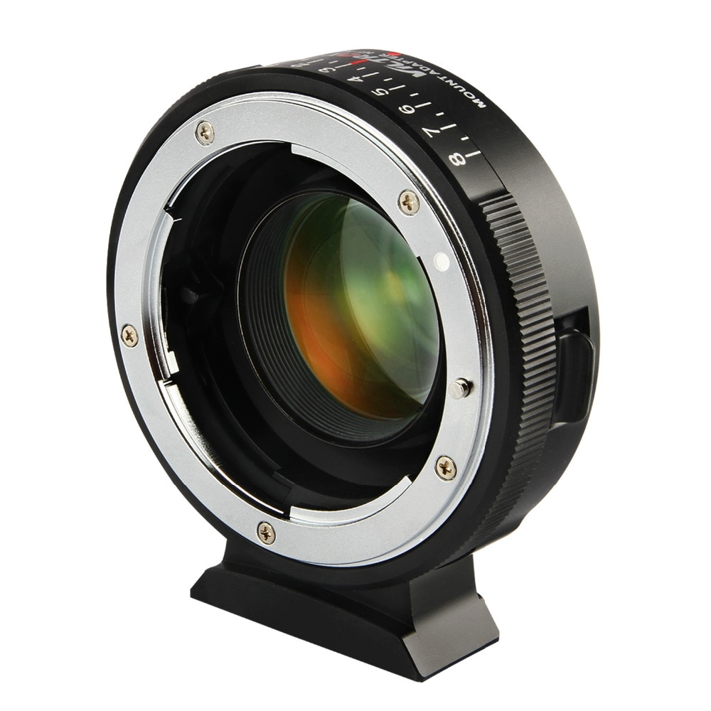 Адаптер для крепления объектива Viltrox, ручной фокус 0,71х, редуктор скорости, Крепление объектива для Nikon G D, объектив для M4/3 камеры GH5 GH4 GX85 NF-M43X