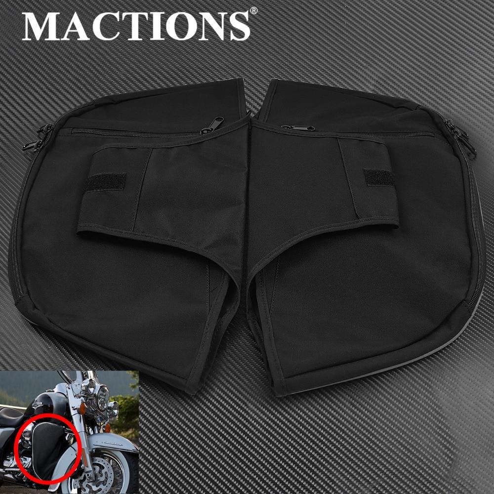 Calentadores de piernas negros para motocicletas, cortadoras suaves para Harley Touring Electra Glide Standard Street Glide Road King FLHR 1980-2020